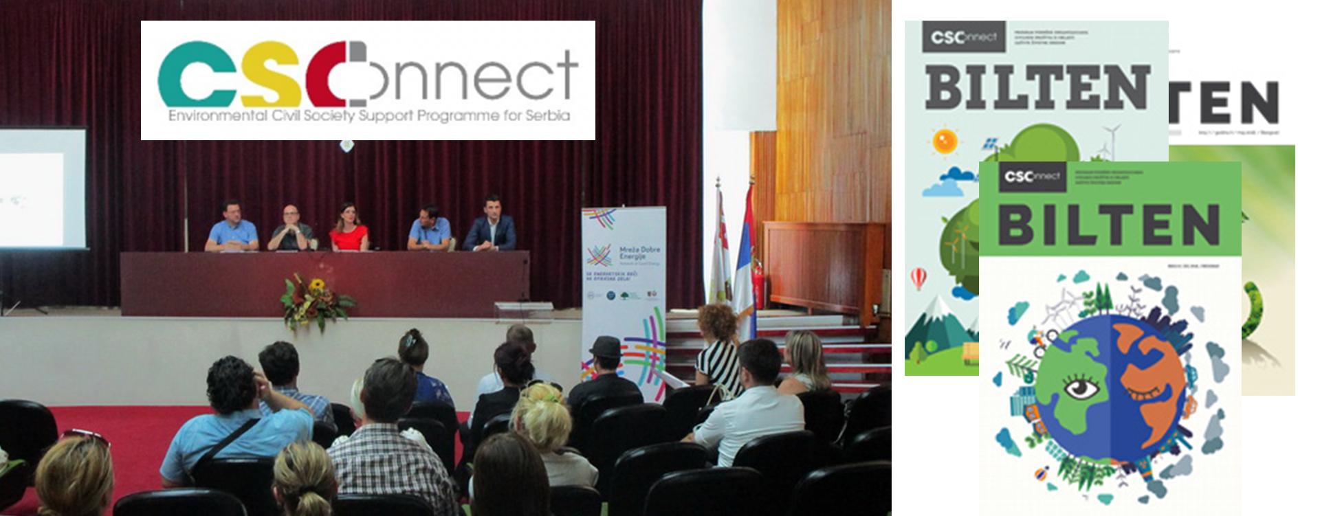 Projekat: CSOnnect (EE i zaštita prirode)